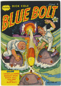 Golden Age (1938-1955):War, Blue Bolt V2#10 (Novelty Press, 1942) Condition: VF....