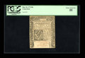 Colonial Notes:Connecticut, Connecticut May 10, 1775 20s PCGS Choice About New 55....