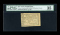 Colonial Notes:New York, New York - Constitutional Society of Dutchess County 3d January 11,1791 Harris H3 PMG Choice Very Fine 35 . ...