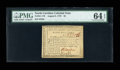 Colonial Notes:North Carolina, North Carolina August 8, 1778 $5 PMG Choice Uncirculated 64 EPQ....