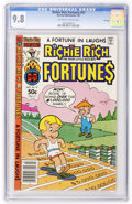 Modern Age (1980-Present):Humor, Richie Rich Fortunes #57 File Copy (Harvey, 1981) CGC NM/MT 9.8Off-white to white pages....