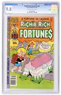 Modern Age (1980-Present):Humor, Richie Rich Fortunes #56 File Copy (Harvey, 1981) CGC NM/MT 9.8Off-white to white pages....