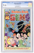 Bronze Age (1970-1979):Humor, Richie Rich Gems #4 File Copy (Harvey, 1975) CGC NM+ 9.6 Off-white to white pages....
