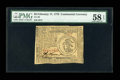 Colonial Notes:Continental Congress Issues, Continental Currency February 17, 1776 $3 PMG Choice About Unc 58EPQ....
