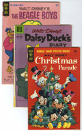 Silver Age (1956-1969):Miscellaneous, Disney Duck Related Comics Group (Dell/Gold Key/Whitman, 1960s-'70's).... (Total: 53 Comic Books)