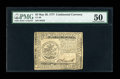 Colonial Notes:Continental Congress Issues, Continental Currency May 20, 1777 $5 PMG About Uncirculated 50....