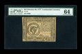 Colonial Notes:Continental Congress Issues, Continental Currency February 26, 1777 $8 PMG Choice Uncirculated64....