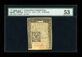 Colonial Notes:Connecticut, Connecticut June 1, 1773 10s PMG About Uncirculated 53....