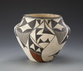 American Indian Art:Pottery, AN ACOMA POLYCHROME JAR. c. 1970...