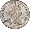 Early Dollars, 1803 $1 Large 3--Lamination Obverse at 8:00--AU50 PCGS....