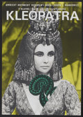 "Movie Posters:Historical Drama, Cleopatra (20th Century Fox, 1966). Czech Poster (11"" X 15.5"").Historical Drama...."