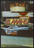 "Movie Posters:Sports, Le Mans (National General, 1971). Czech Poster (11"" X 15.5""). Sports...."