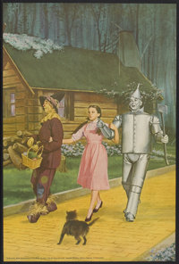 """The Wizard of Oz (MGM, R-1960s). Personality Poster (24"""" X 36""""). Fantasy"""