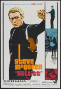 "Movie Posters:Action, Bullitt (Warner Brothers, 1969). Argentinean Poster (29"" X 43"").Action...."