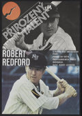 "Movie Posters:Sports, The Natural (Tri-Star, 1986). Czech Poster (11"" X 15.5""). Sports...."