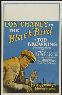 "The Black Bird (MGM, 1926). Window Card (14"" X 22""). Crime"