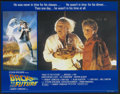 """Movie Posters:Science Fiction, Back to the Future (Universal, 1985). British Lobby Card Set of 8(11"""" X 14""""). Science Fiction.... (Total: 8 Items)"""