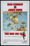 """Movie Posters:James Bond, You Only Live Twice (United Artists, 1967). One Sheet (27"""" X 41"""")Style B. James Bond...."""