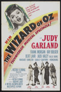 "Movie Posters:Fantasy, The Wizard of Oz (MGM, R-1949). One Sheet (27"" X 41""). Fantasy...."