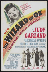 """The Wizard of Oz (MGM, R-1949). One Sheet (27"""" X 41""""). Fantasy"""