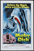 "Movie Posters:Adventure, Moby Dick (United Artists, R-1976). One Sheet (27"" X 41"").Adventure...."