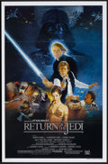 "Movie Posters:Science Fiction, Return of the Jedi (20th Century Fox, 1983). One Sheet (27"" X 41"")Style B. Flat Folded. Science Fiction...."
