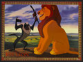 "Movie Posters:Animated, The Lion King (Buena Vista, 1994). Spanish Language Lobby Card Set of 8 (11"" X 14""). Animated.... (Total: 8 Items)"
