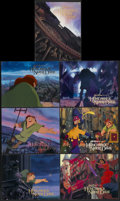 "Movie Posters:Animated, The Hunchback of Notre Dame (Buena Vista, 1996). Lobby Cards (7)(11"" X 14""). Animated.... (Total: 7 Items)"