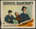"Movie Posters:Crime, The Drag Net (Paramount, 1928). Lobby Cards (3) (11"" X 14"").Crime.... (Total: 3 Items)"