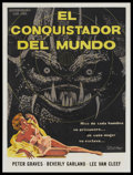 "Movie Posters:Science Fiction, It Conquered the World (Cub-Mex, 1956). Mexican One Sheet (27"" X 36""). Science Fiction...."