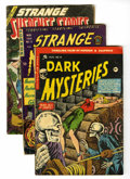 Golden Age (1938-1955):Horror, Pre-Code Horror Group (Various Publishers, 1953-55) Condition:Average GD.... (Total: 6 Comic Books)