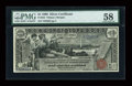 Fr. 224 $1 1896 Silver Certificate PMG Choice About Unc 58