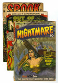 Golden Age (1938-1955):Horror, Miscellaneous Golden Age Group (Various Publishers, 1950-54)....(Total: 13 Comic Books)