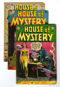 Golden Age (1938-1955):Horror, House of Mystery/House of Secrets Group (DC, 1954-65) Condition:Average GD.... (Total: 6 Comic Books)