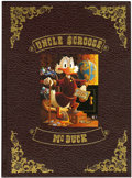 Memorabilia:Comic-Related, Carl Barks Uncle Scrooge McDuck His Life and Times Hard Cover Book, #532/5000 (Celestial Arts, 1981)....