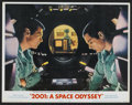 "Movie Posters:Science Fiction, 2001: A Space Odyssey (MGM, 1968). Lobby Card Set of 8 (11"" X 14"").Science Fiction.... (Total: 8 Items)"