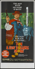 "Movie Posters:Western, For a Few Dollars More (United Artists, 1967). Australian ThreeSheet (40"" X 78.5""). Western...."