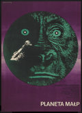 "Movie Posters:Science Fiction, Planet of the Apes (20th Century Fox, 1968). Polish One Sheet (22""X 31.25""). Science Fiction...."