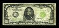 Small Size:Federal Reserve Notes, Fr. 2211-H $1000 1934 Light Green Seal Federal Reserve Note. Fine-Very Fine.. ...