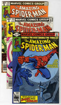 Modern Age (1980-Present):Superhero, The Amazing Spider-Man #200-219 Group (Marvel, 1980-81) Condition:Average NM-.... (Total: 20)