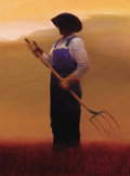 Paintings, GARY ERNEST SMITH (American, b. 1942). Tool of the Harvest. Oil on canvas. 40 x 30 inches (101.6 x 76.2 cm). Signed lowe...
