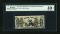 Fractional Currency:Third Issue, Fr. 1370 50c Third Issue Justice PMG Extremely Fine 40 EPQ....