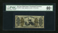 Fractional Currency:Third Issue, Fr. 1373 50c Third Issue Justice PMG Extremely Fine 40 EPQ....