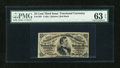 Fractional Currency:Third Issue, Fr. 1291 25c Third Issue PMG Choice Uncirculated 63 EPQ....