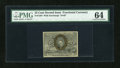 Fractional Currency:Second Issue, Fr. 1284 25c Second Issue PMG Choice Uncirculated 64....