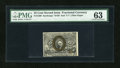 Fractional Currency:Second Issue, Fr. 1289 25c Second Issue PMG Choice Uncirculated 63....