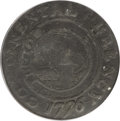 Colonials, 1776 $1 Continental Dollar, CURENCY, Pewter VG10 PCGS....