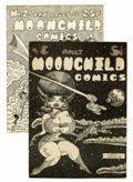 Silver Age (1956-1969):Alternative/Underground, Moonchild Comics #1 and 2 Group (Nicola Cuti, 1968-69) Condition:Average FN.... (Total: 2 Comic Books)