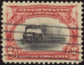 Stamps, #295, 1901, 2c Carmine And Black, SUP 98 PSE. (Used)....