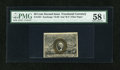 Fractional Currency:Second Issue, Fr. 1321 50c Second Issue PMG Choice About Unc 58 EPQ....